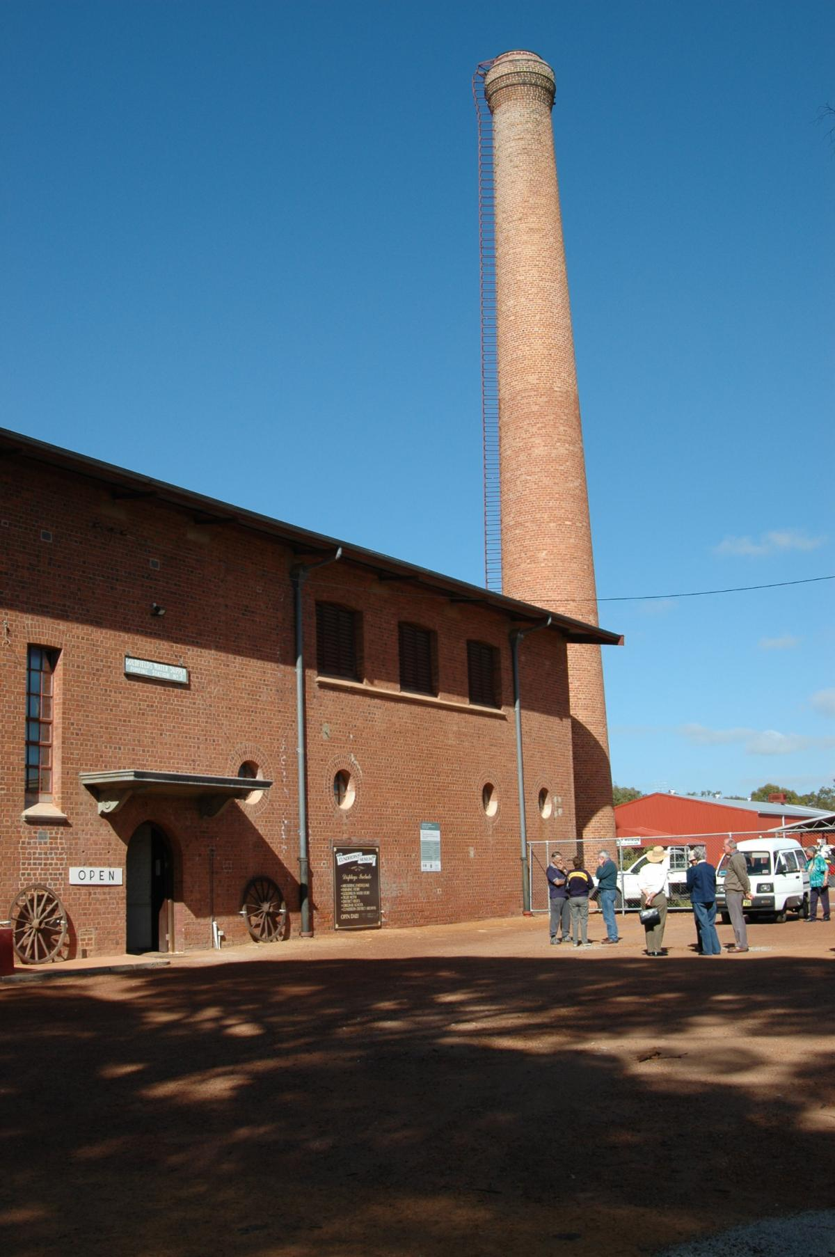 Cunderdin Historical Society large building with very tall chimney