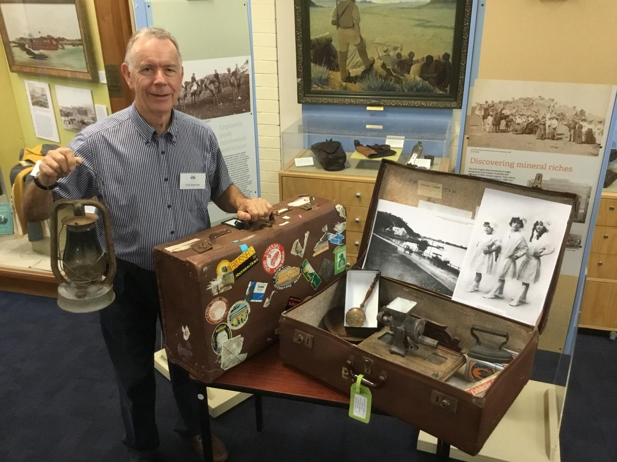 History in a Suitcase