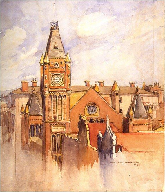 Perth City Hall painting, 1932
