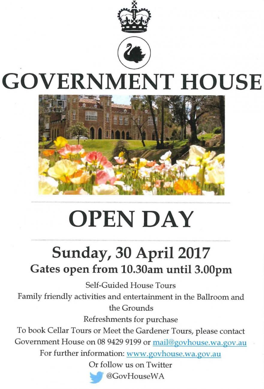 Government House Flyer