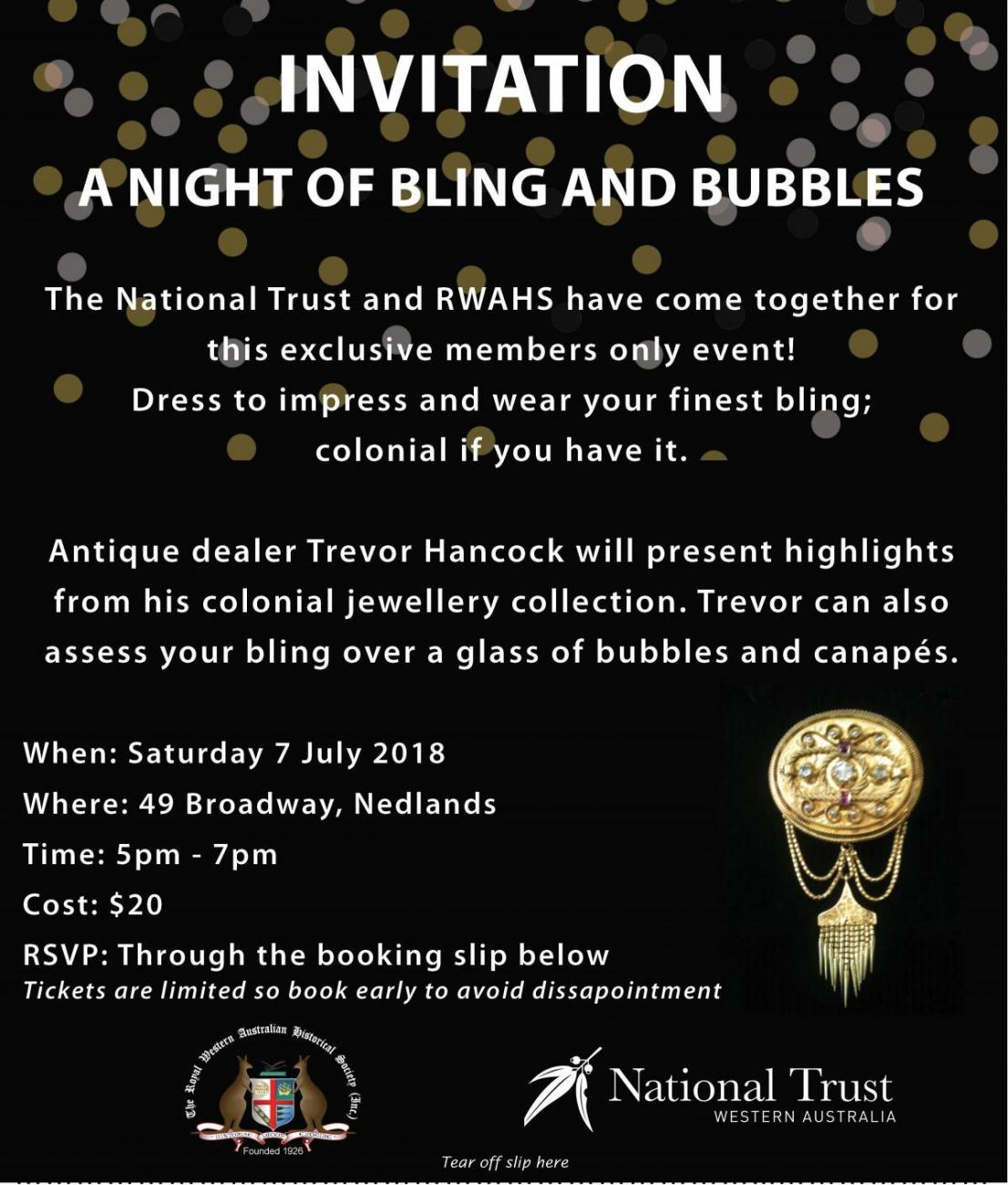 Night of Bling and Bubbles