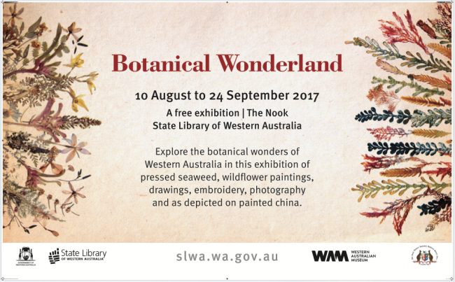 Botanical Wonderland at the State Library