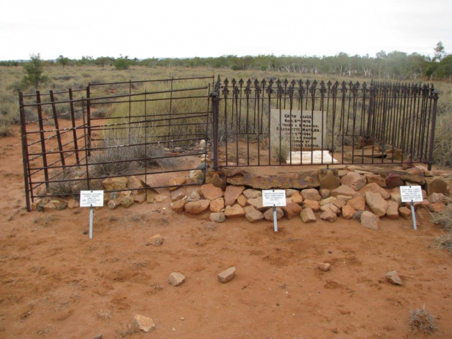Outback Grave
