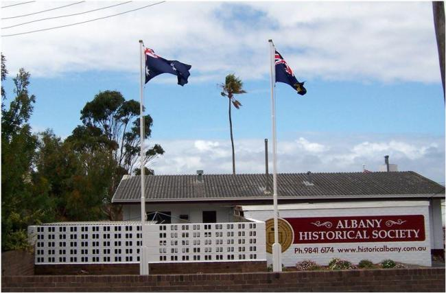 Albany Historical Society building