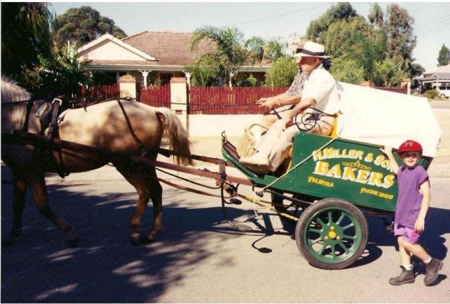 Melville Historical Society - Horse and cart